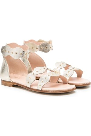 Chloé Touch-strap leather sandals