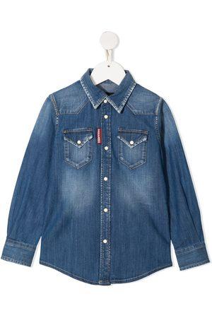 Dsquared2 Long-sleeve denim shirt