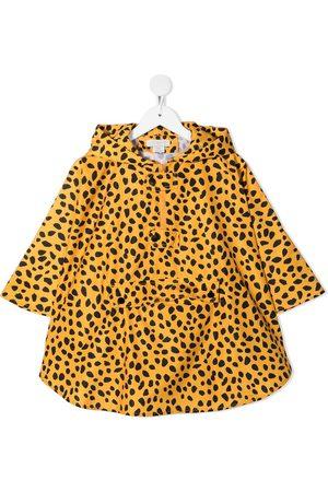 Stella McCartney Leopard pattern rain jacket