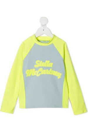Stella McCartney Logo-print long-sleeve top