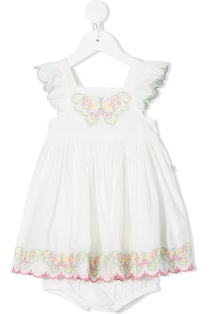 Stella McCartney Butterfly-embroidered dress set