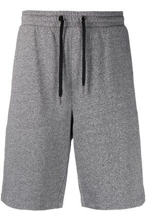 Karl Lagerfeld Lounge Terry logo print shorts - Grey