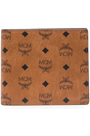 MCM Faux leather bi-fold wallet