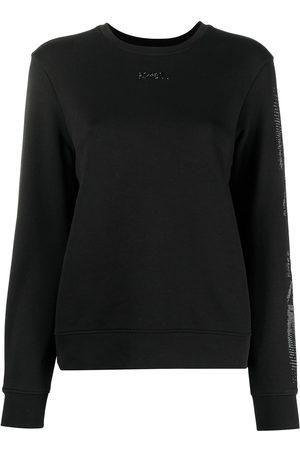 Karl Lagerfeld Rhinestone logo sweatshirt