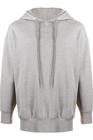 Stella McCartney Logo tape hoodie - Grey