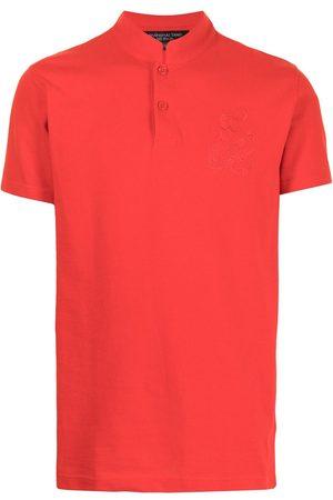 SHANGHAI TANG Dragon embroidery polo shirt