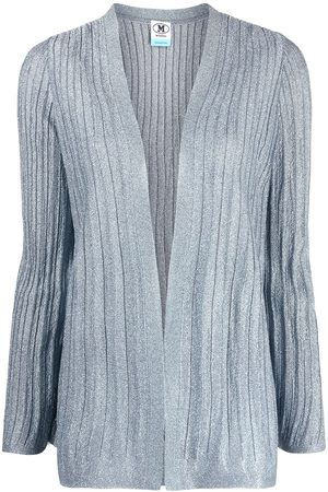 M Missoni Ribbed open front cardigan