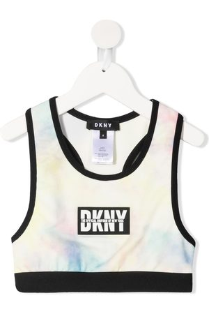 DKNY Logo-print tank top