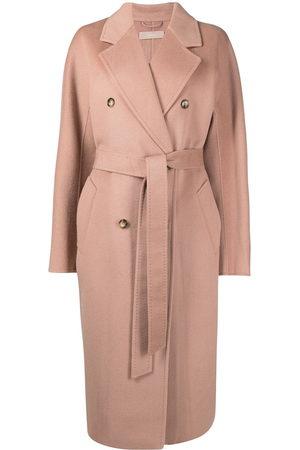 12 STOREEZ Oversized double-breasted wool coat - Neutrals
