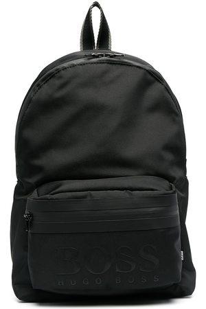 HUGO BOSS Boys Rucksacks - Logo-print backpack