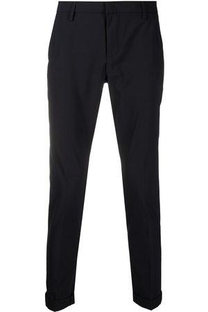 DONDUP Men Formal Pants - Slim-fit tailored trousers