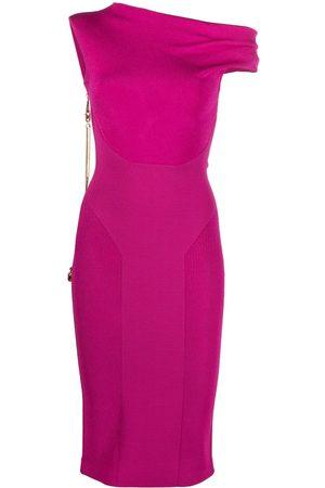 AZ FACTORY MyBody asymmetric twist dress