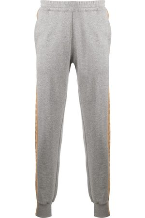 Stella McCartney Sweatpants - 23 OBS print track pants - Grey