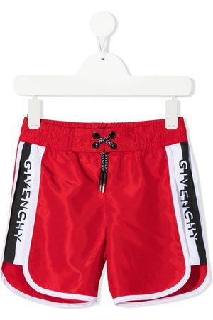 Givenchy Logo-embellished swim shorts