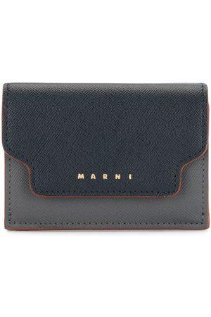 Marni Logo-print folding wallet