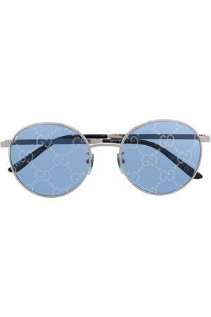Gucci GG-lens round-frame sunglasses