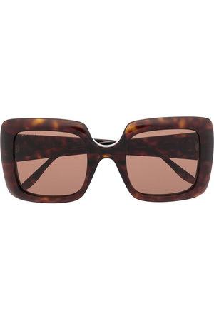Gucci Interlocking G square-frame sunglasses