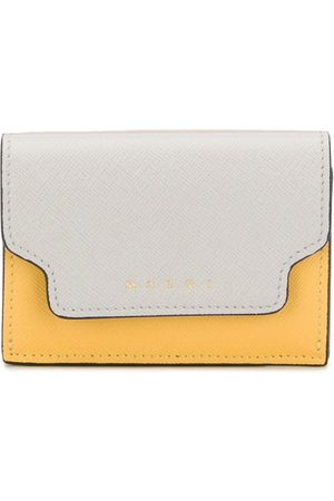 Marni Contrast fold-over purse - Neutrals
