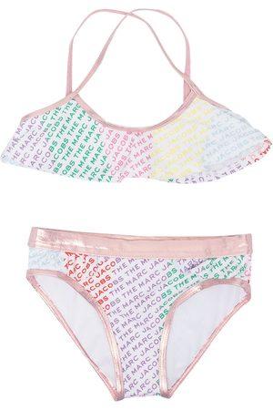 The Marc Jacobs Logo-print two-piece bikini set