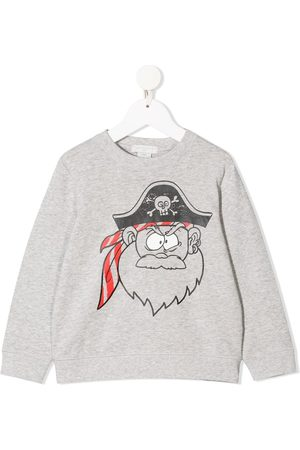 Stella McCartney Pirate print sweatshirt - Grey