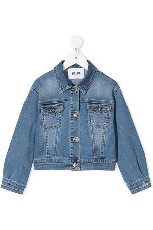 Msgm Stonewashed denim jacket
