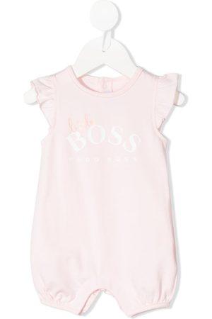 HUGO BOSS Logo-printed romper