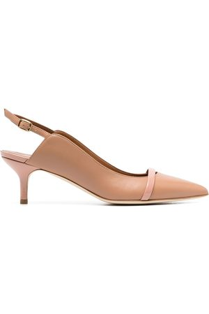 MALONE SOULIERS Marion leather pumps - Neutrals