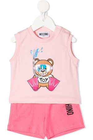 Moschino Teddy Bear-print tracksuit set