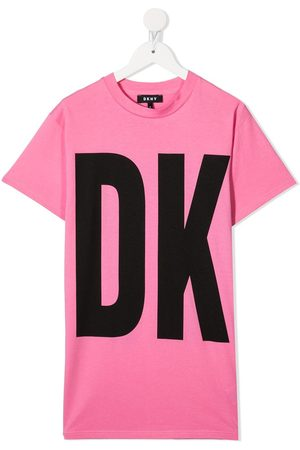 DKNY Logo print t-shirt dress