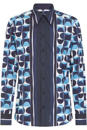Dolce & Gabbana Majolica-print cotton shirt