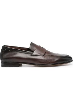 santoni Penny slip-on loafers