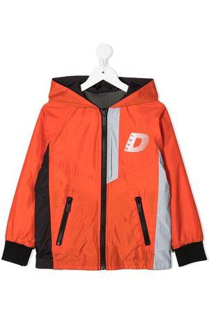 DKNY Reversible logo print jacket