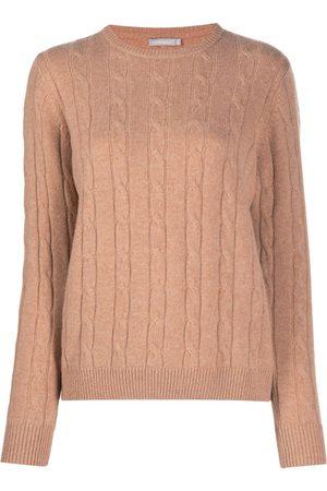 12 STOREEZ Cable knit wool-cashmere blend - Neutrals