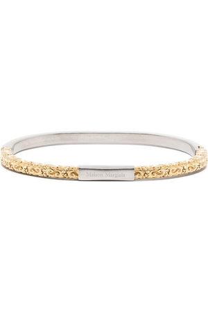 Maison Margiela Engraved logo bracelet