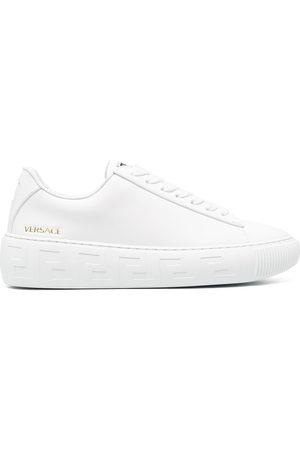 VERSACE La Greca lace-up sneakers