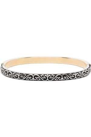 Maison Margiela Two-tone engraved bracelet