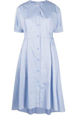 12 STOREEZ Asymmetric hem short dress