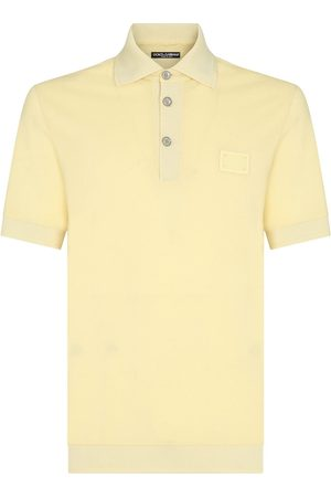 Dolce & Gabbana Logo-patch polo shirt
