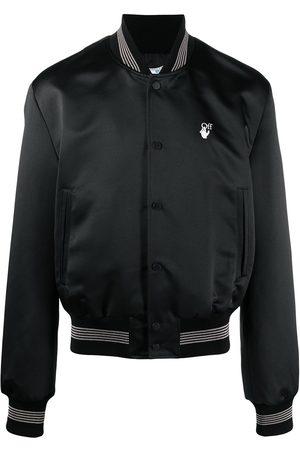 OFF-WHITE OW logo bomber jacket