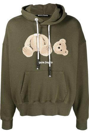 Palm Angels Teddy bear-print hoodie