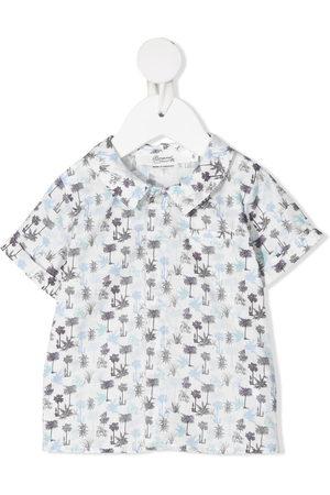 BONPOINT Graphic-print shortsleeved shirt