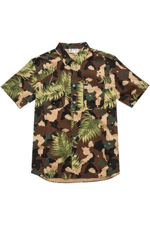 Franklin&marshall Cotton Short Sleeve Shirt XL Palm Camo