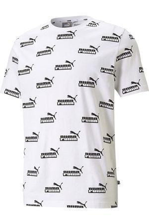 PUMA Men T-shirts - Amplified All Over Print L
