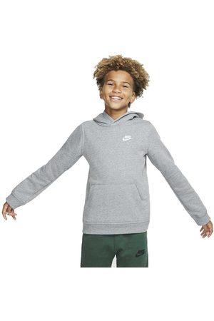Nike Sportswear Club M Carbon Heather / White