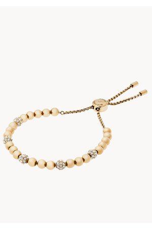 Michael Kors Women's Blush Rush -Tone Bead Bracelet