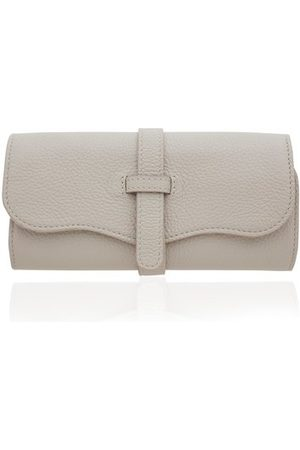 Monica Vinader Jewelry - Personalised Leather Jewellery Roll with dustbag
