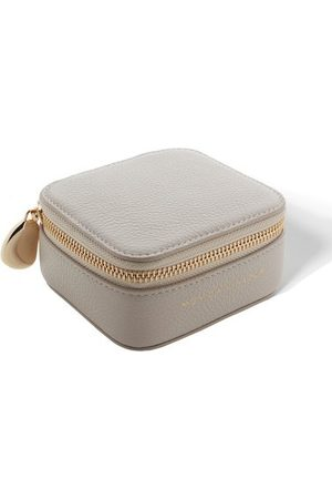 Monica Vinader Jewelry - Personalised Leather Trinket Box with dustbag
