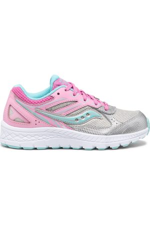 Saucony Cohesion 14 Lace Sneaker PinkSilver