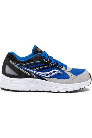 Saucony Cohesion 14 Lace Sneaker BlackBlue
