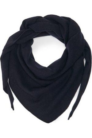 EXTREME CASHMERE No.35 Stretch-cashmere Bandana - Womens - Navy